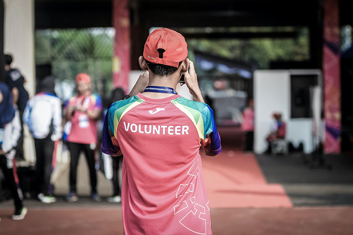 Volunteer Management by CEI